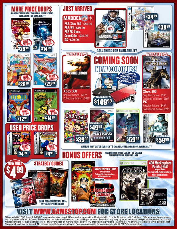 Gamestop Com Store Promotions