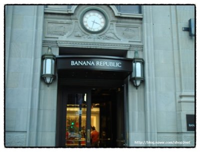 Clothing stores. Banana republic clothing store